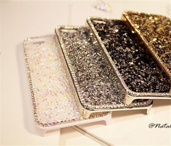 Diamond Rhinestone Cell Phone Case for IPHONE 7 6 6s plus 5S 5