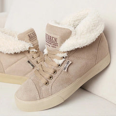 Fashion Fur ankle boots for women
