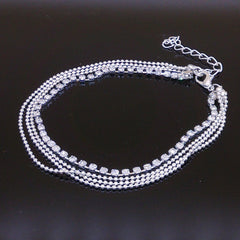 Multi Layers Ankle Bracelet Chain