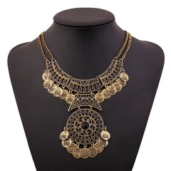 Bohemian Vintage Maxi Necklace