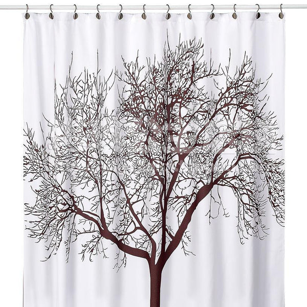 Tree Design Bathroom Waterproof Shower Curtain
