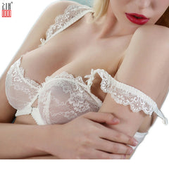 Lace Bra Push Up Bras White Brief Sets