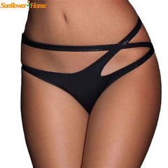 Bandage Open Crotch Crotchless Panties