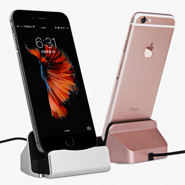 Charging Dock Station For iPhone 5 5S 5C SE 6s 6 Plus