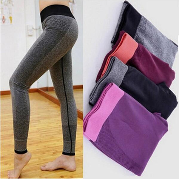 S-XL 4 Colors Women Seamless Leggings