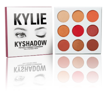 The Burgundy Palette Kyshadow Kit