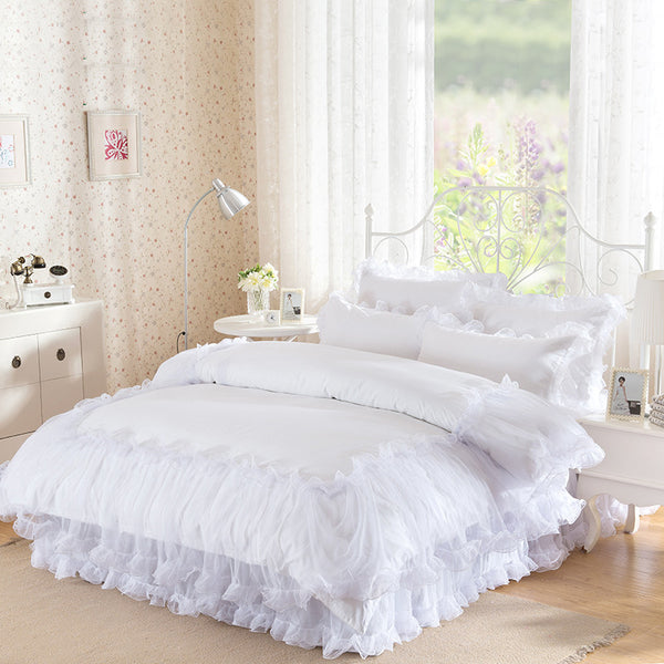 Lacework Luxury Bedding Set