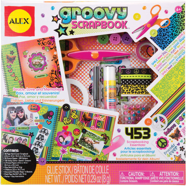 ALEX Toys Craft Groovy Scrapbook Kit