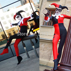 Arkham Asylum Harley Quinn Cosplay Carnival sexy Costumes