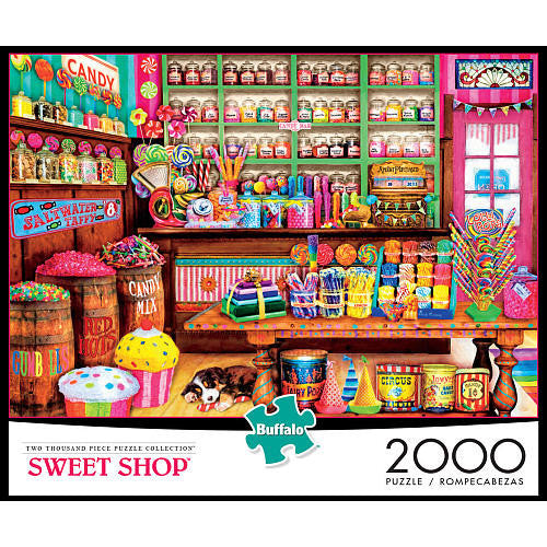 Buffalo Games Jigsaw Puzzle 2000-Piece - Sweet Shop