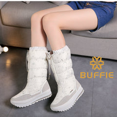 Puffy Women's boots four colors