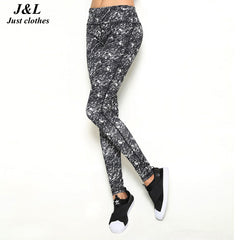 Sports Leggings Print Fashion Fitness Leggings