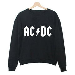 AC/DC Band Cotton Sweatshirt