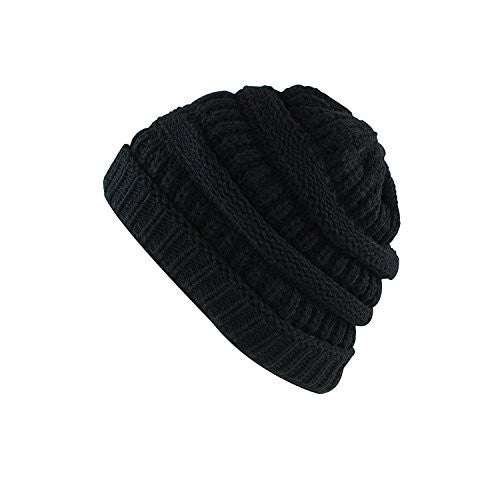 Knit Low Slouch Thermal Beanie for Ski, Cycling, Protection by Super Z Outlet