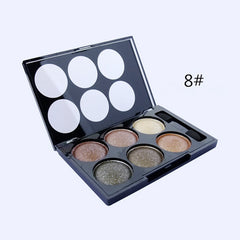 Alpha Glitter Eyeshadow 6 Colors