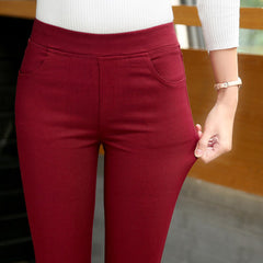 Women Stretch Pencil Pants Trousers/trousers for women/bottom