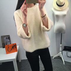 Women Pullover Wool Sweater