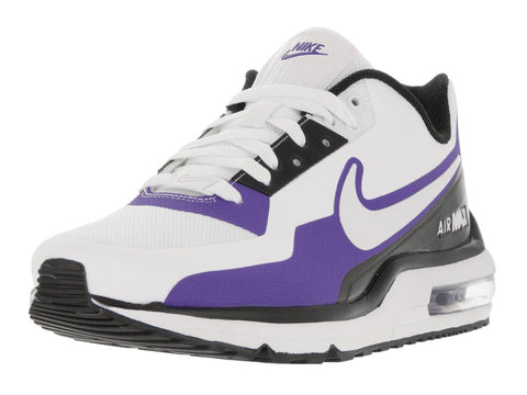 Nike Men's Air Max LTD 3 Mod White/White/Black/Prsn Violet Running Shoes