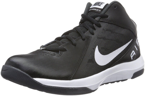 Nike Men's The Air Overplay IX Black/White/Anthracite/Dark Gry Basketball Shoes