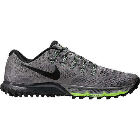 Nike Air Zoom Terra Kiger 3 Trail Running Shoes - Mens Cool Grey/Anthracite/Ghost Green/Black