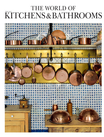 THE WORLD OF KITCHENS & BATHROOMS copperware Loop handmade copper pipe tap