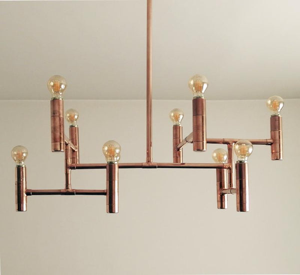 Primus - handmade copper pipe lamp by Switchrange