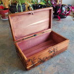 "8.5"" Lane red cedar trinket box"