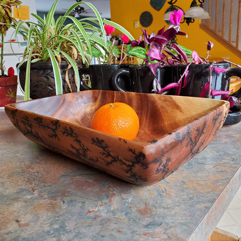 "12"" rectangular serving bowl"