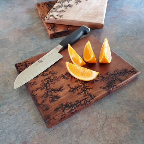 Cheese and cutting boards