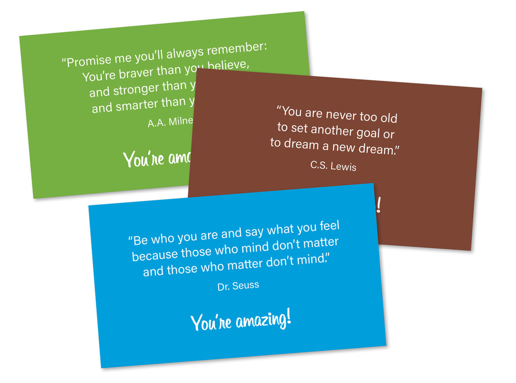 Inpsirational cards (set of 7)
