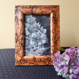 "4""x6"" wood photo frame"