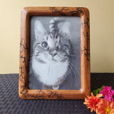 "5""x7"" wood photo frame"
