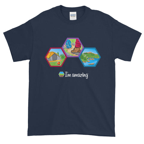 Camping and hiking tee