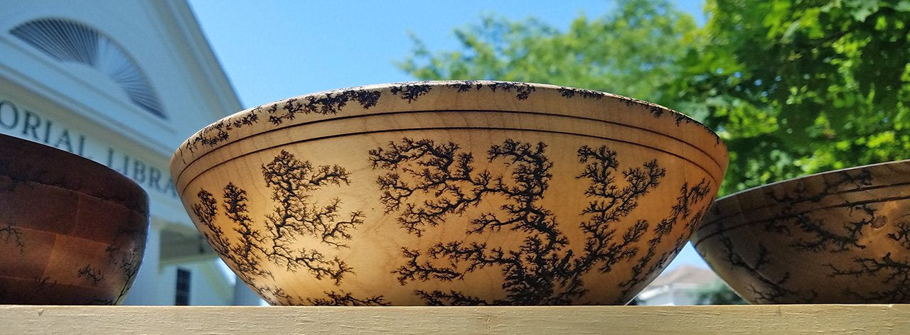 electrocuted wood bowl