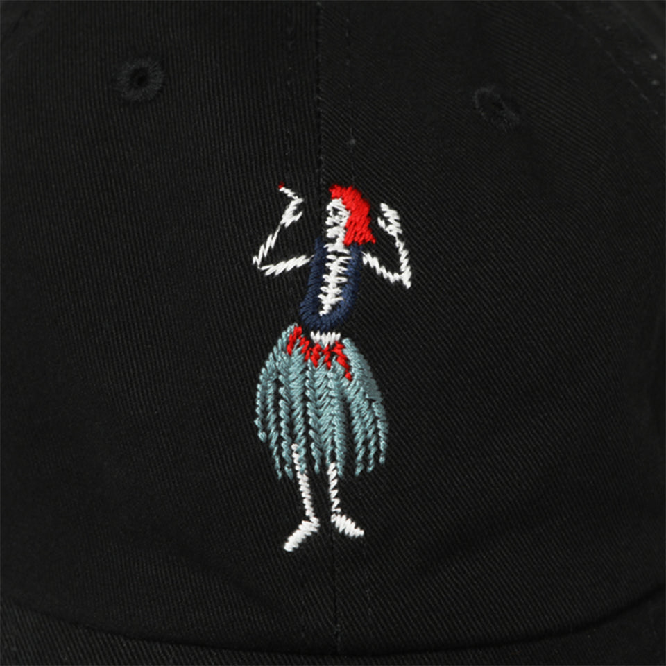 HULA SKULL CAP - BLACK/BLUE