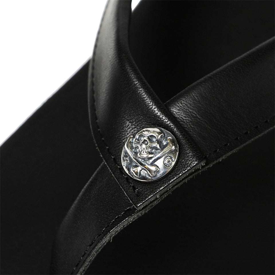 STEERHIDE SANDALS - BLACK