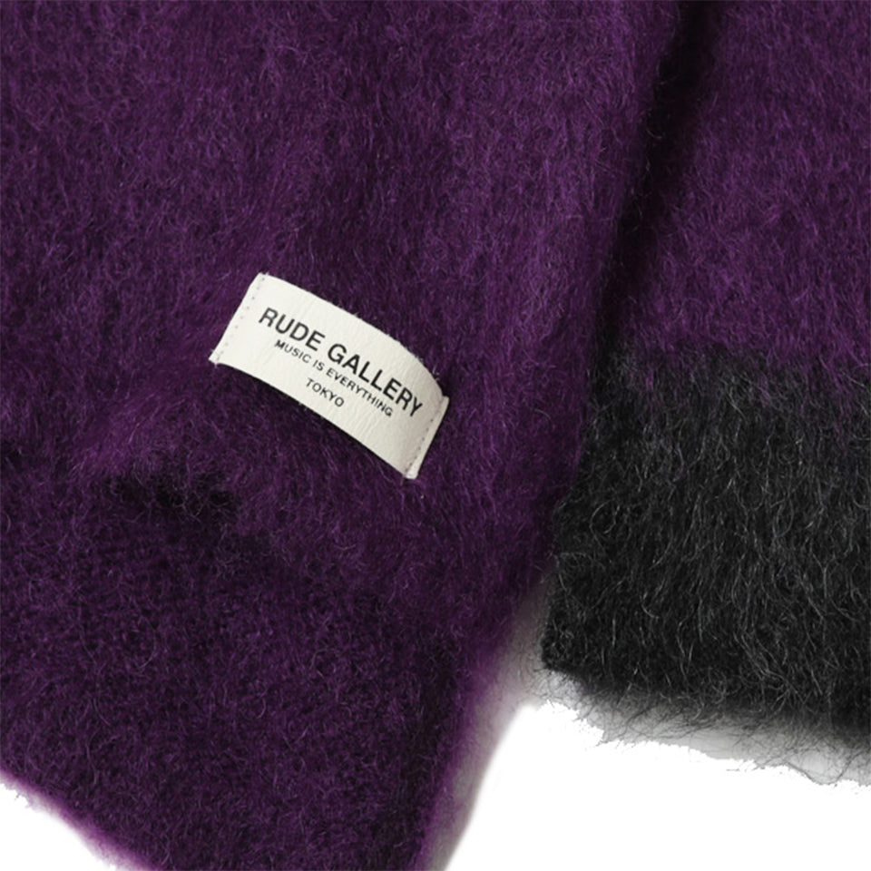 MOHAIR SWEATER - PURPLE