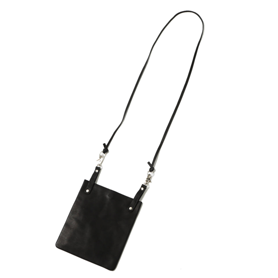 7 INCH SHOULDER BAG - BLACK