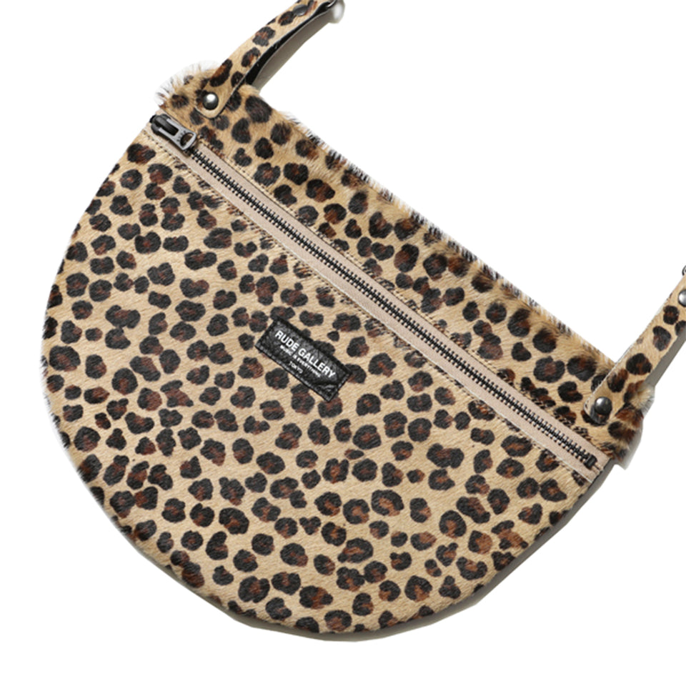 RUDE GALLERY - APRON BAG - LARGE/LEOPARD