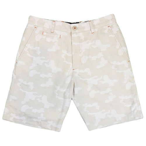U.S.REPO - IVY CAMO SHORT - OFF WHITE
