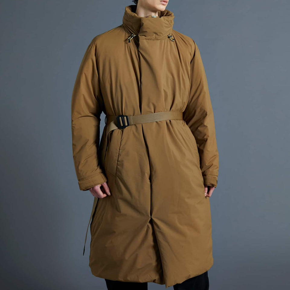 SLEEPING BAG LONG DOWN COAT - COYOTE