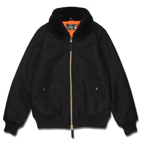 ts(s) - OVERSIZED HOODED PARKA - NAVY