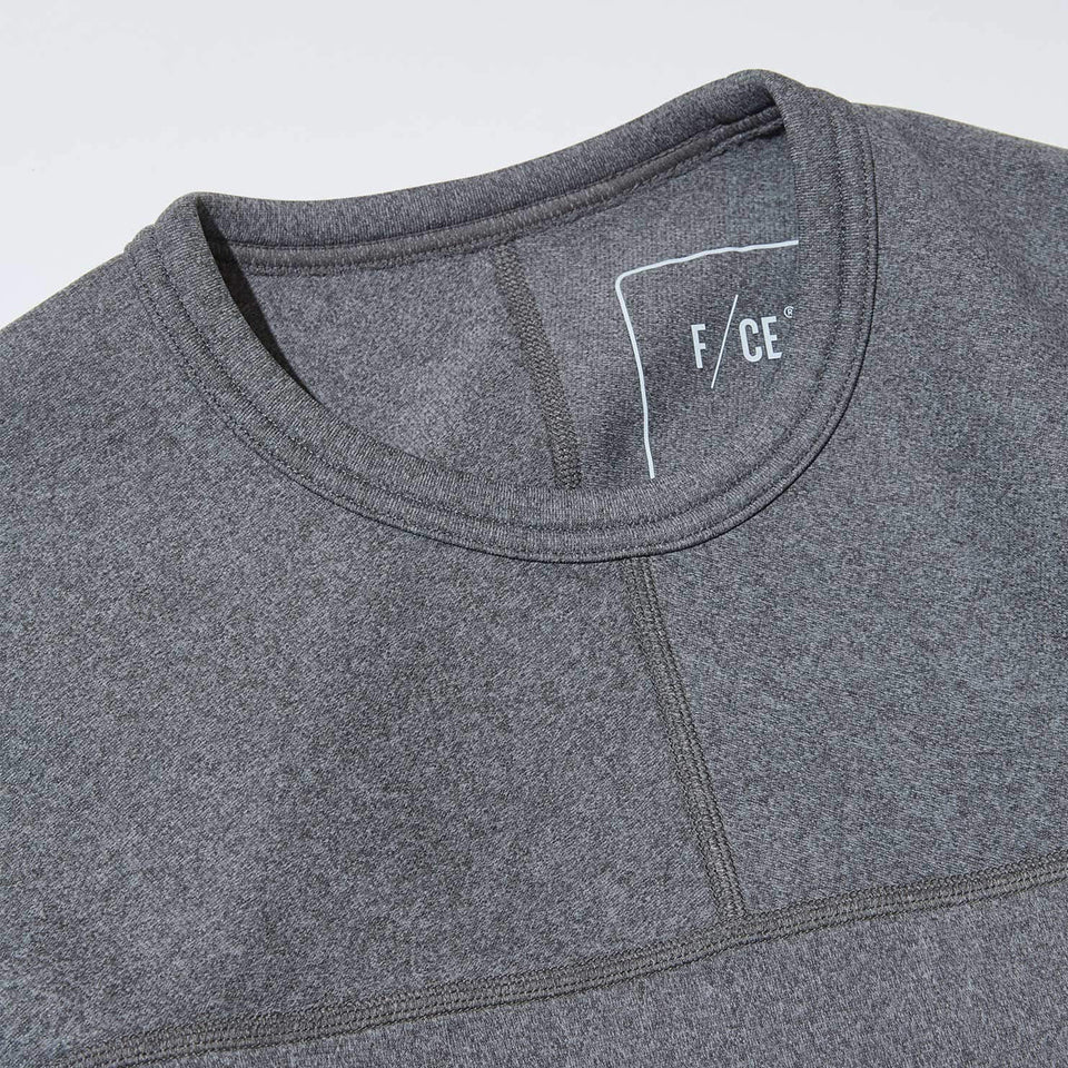 DELTA CREW SWEATS - GRAY