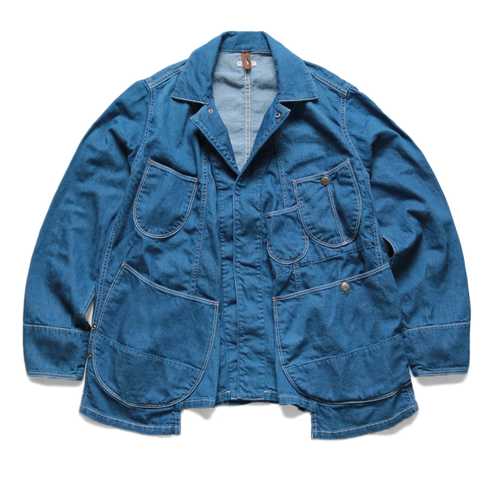 8oz DENIM MONKEY SUKIYAKI COVERALL - PRO