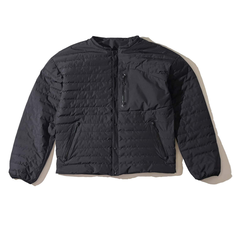 4WAY WEATHER PROOF ULTRA LIGHT DOWN JACKET - BLACK