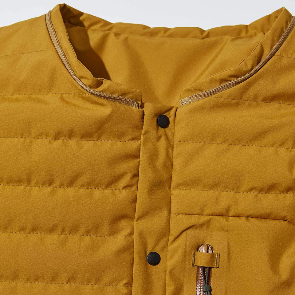 4WAY WEATHER PROOF ULTRA LIGHT DOWN JACKET - ORANGE