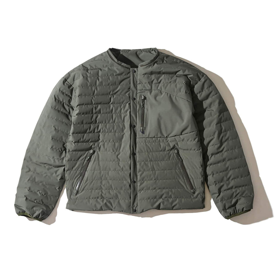4WAY WEATHER PROOF ULTRA LIGHT DOWN JACKET - OLIVE