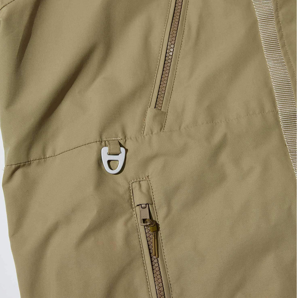 WEATER PROOF ECO NYLON GAME COAT - BEIGE