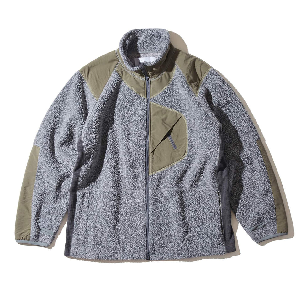 PORLARTEC ZIP UP - GRAY