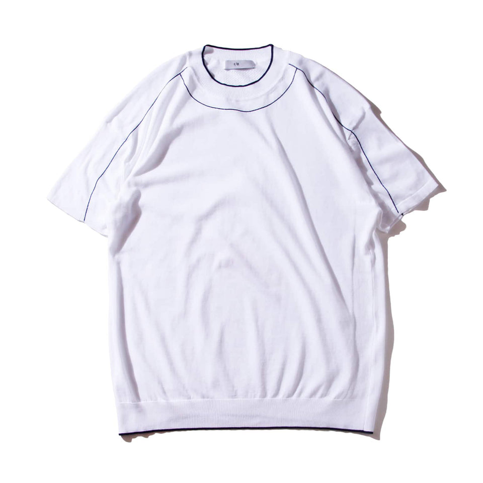 F/CE® | WASHABLE HIGHGAGE KNIT S/S T-SHIRTS